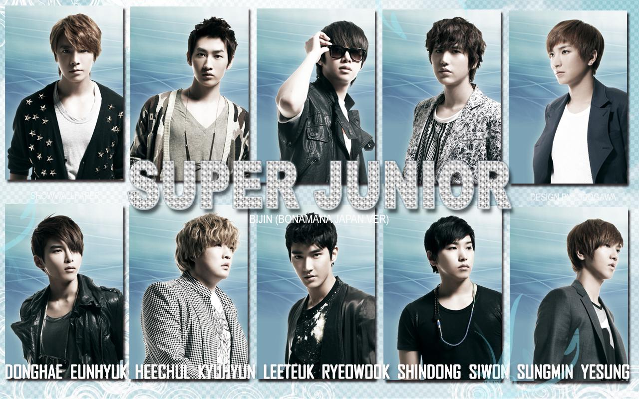 Super Junior 39;Bijin39; Bonamana Jap.Ver Wallpaper