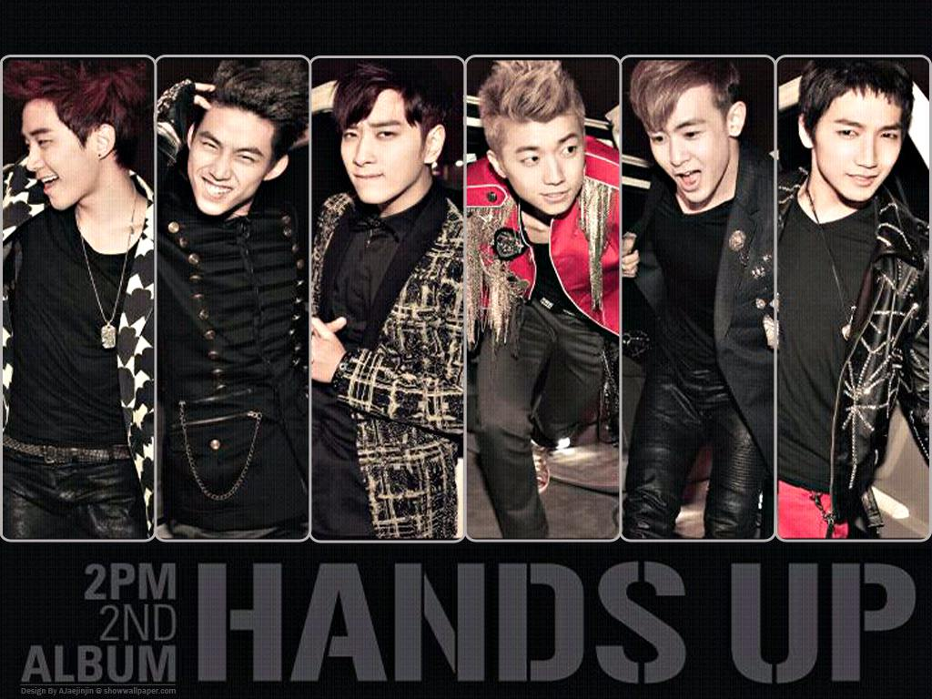2PM : 2ND ALBUM HANDS UP Wallpaper