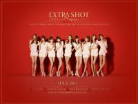 SNSD Lipton EXTRA SHOT With July Calendar 2011