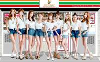 SNSD 9 Angels shop [7-eleven]