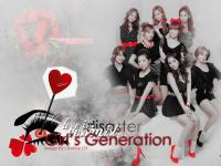 Girl's Generation Black&Red