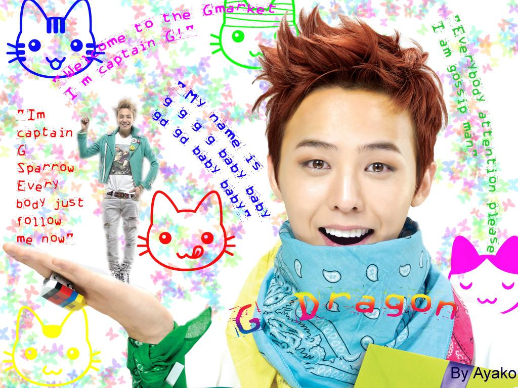 My name is GDragon! Wallpaper