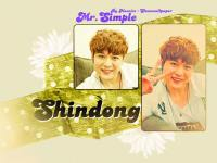 Shindong - Mr.Simple