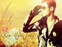 Kim Hyunjoong : You're the sunshine of my life.