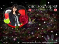 Sooyoung SNSD | Luxurious flowery petal |