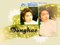 Donghae - Mr.simple