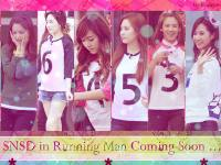 SNSD in Running man