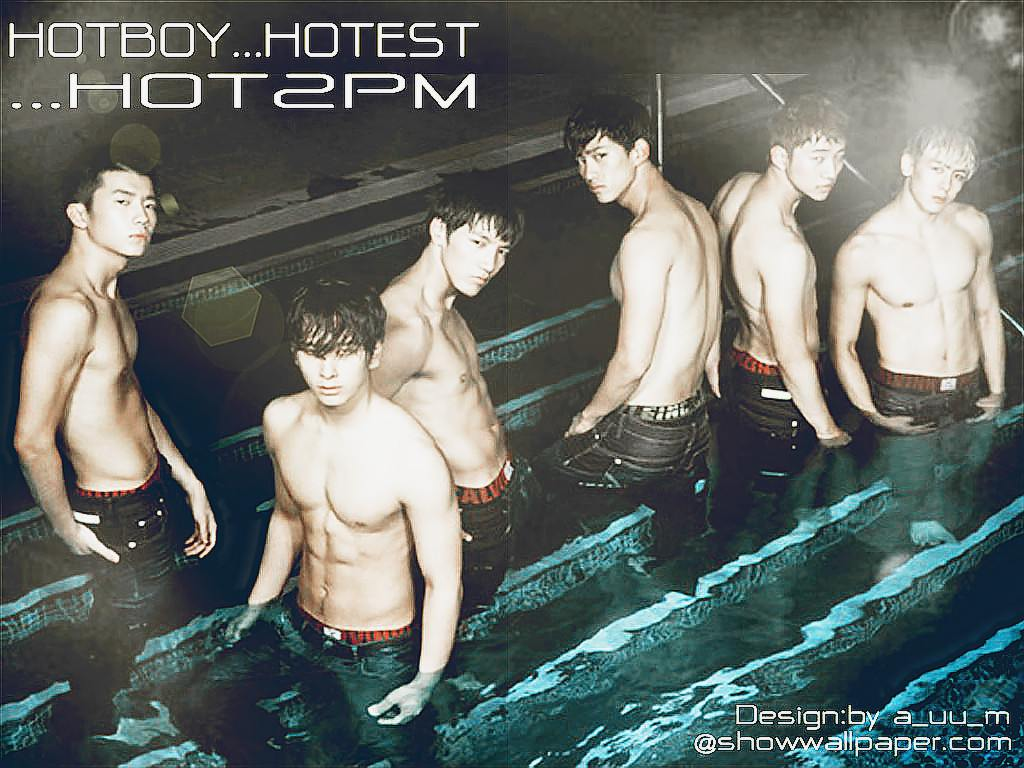 HOT 2PM Wallpaper