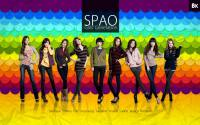 Colourful SPAO snsd w