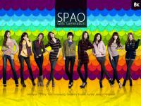 Colourful SPAO snsd
