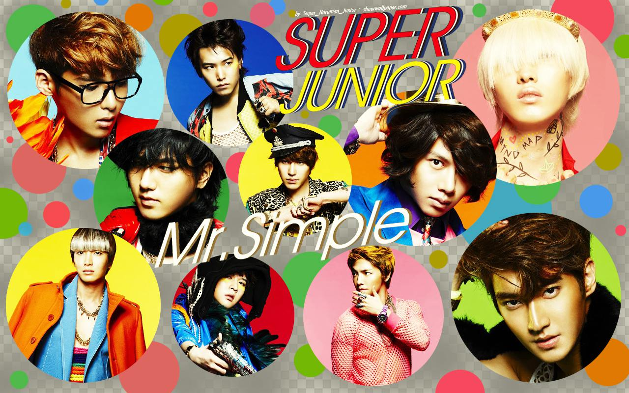 Super Junior 5th Album Mr Simple Wallpaper by Super Naruman Junior