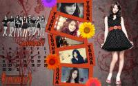 Calendar January 2012 Set ::Yoona::