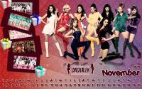 Calendar November 2012 Set ::Hoot Vs Oh!::