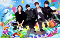 CNBLUE colorful in the sky