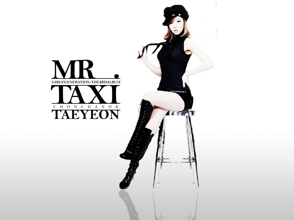 TAEYEON MR.TAXI Wallpaper