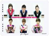 Teen Top lunar new year greeting 2012