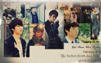 "Nam Woo Hyun ""Infinite"" Birthday"