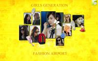 snsd fashion airport