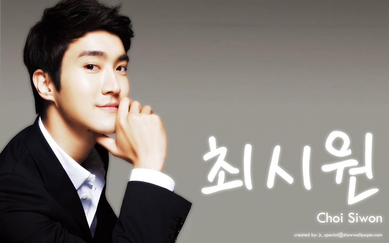 최시원  Choi Siwon Wallpaper by js_special