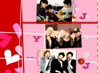 JYJ:Fighting strong heart...