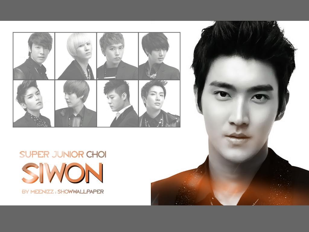 Choi Siwon Wallpaper 2012 choi siwon orange wallpaper by meennizz