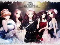 "SNSD The 3rd Album ""The Boys"" ver. Cartoon"