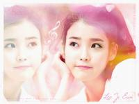 IU:she's a star ...