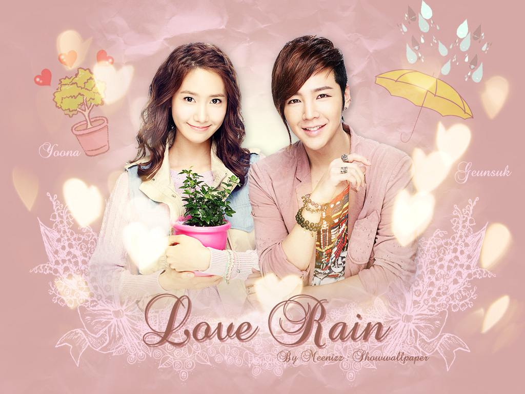 Love Rain Wallpaper by meennizz