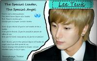 The Special Leader, The Special Angel: Lee Teuk