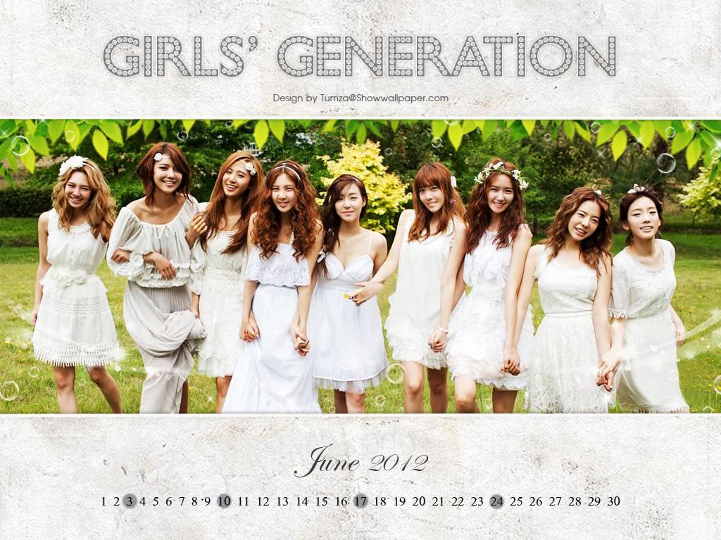 June Calendar Girl Series : Snsd girl de provence perfume with calendar june