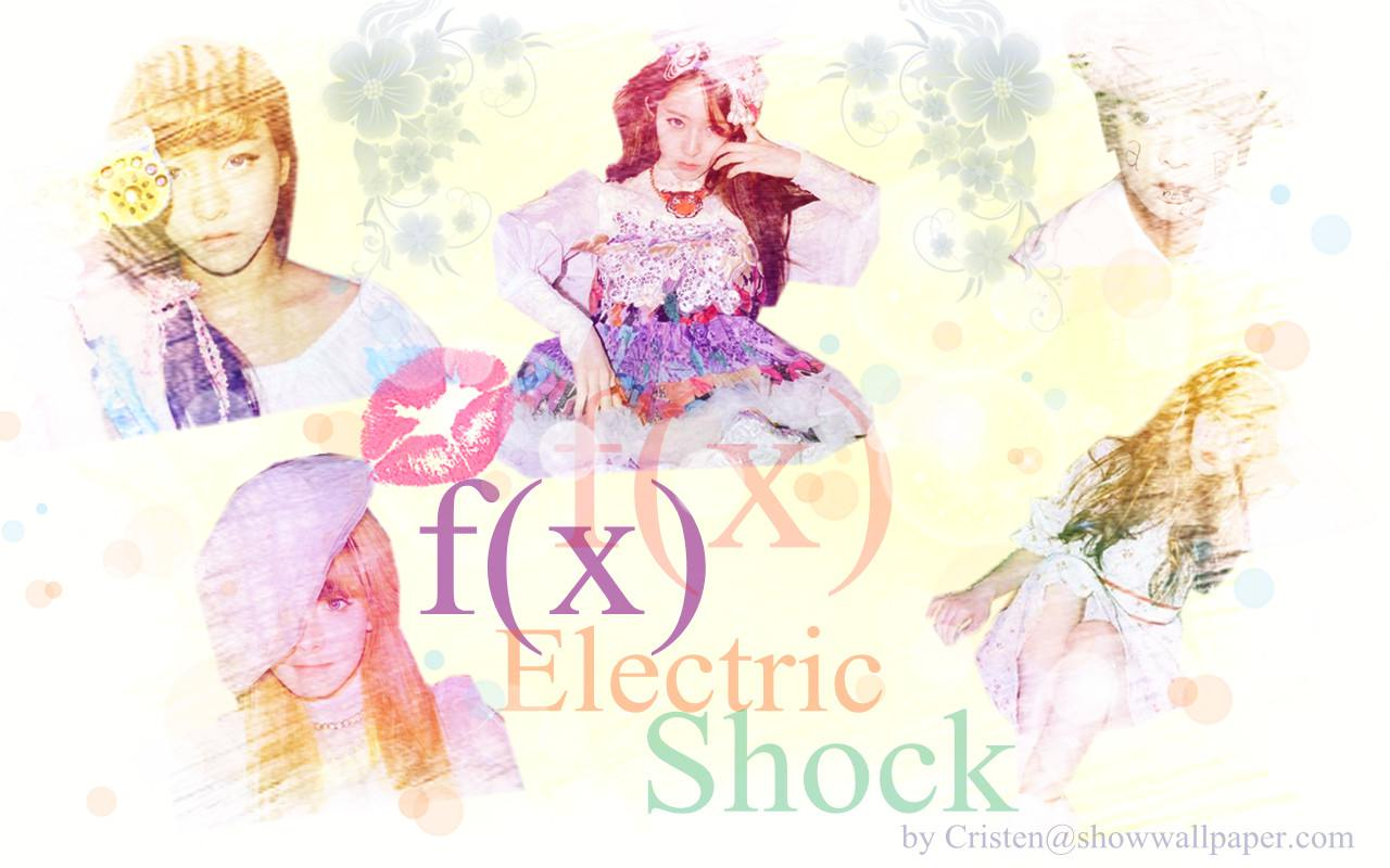 f(x) Electric Shock ver2 Wallpaper by Cristen F(x) Electric Shock