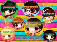 ::SUJU_MR SIMPLE VER CARTOON::