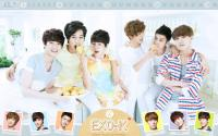 EXO K - the face shop [cute] calandar