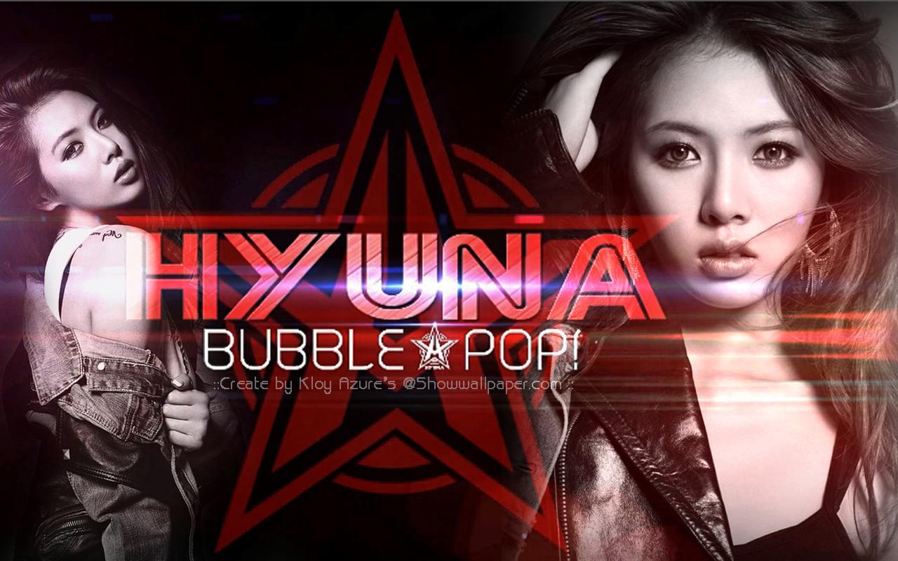 Hyuna X Bubble POP Wallpaper by KloyAzure  Hyuna X Bubble ...