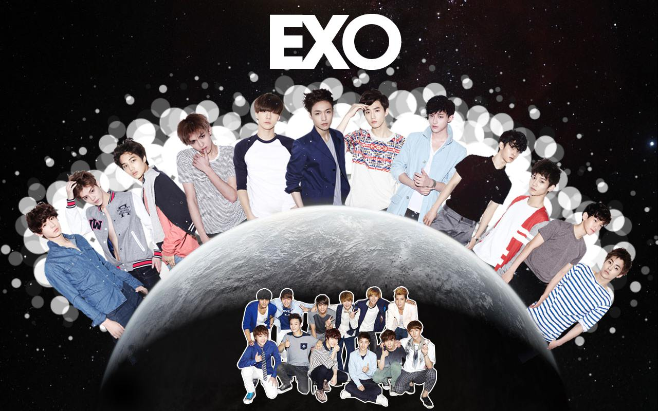 Exo desktop wallpapers graphics you exo bap background - Exo background ...
