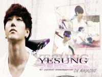 yesung on magazine