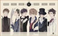 EXO K - 221B Baker St. cartoon ver.