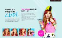 Girls' Generation Casio Baby-G ::Taeyeon::