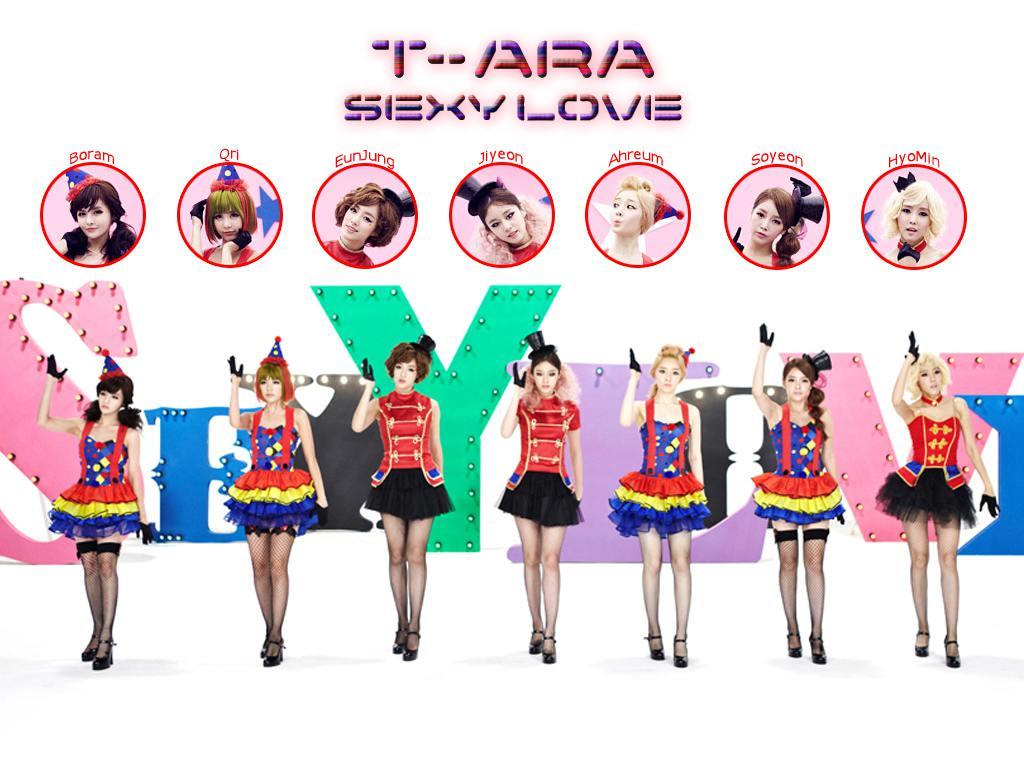 t-ara sexy love Wallpaper by newgirl
