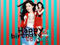 Fang - HBD To You / 21 years old