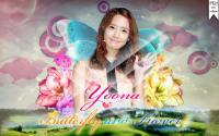 Yoona~SNSD {Butterfly and Flower}