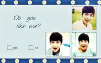 L Myungsoo : Do you like me?