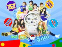 SNSD_Meets_Baby_G