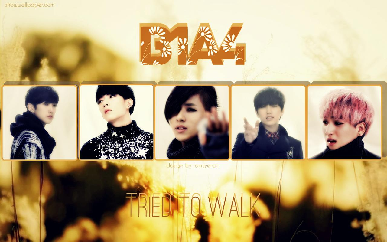 B1A4  TRIED TO WALK IN THE  B1a4 Tried To Walk Wallpaper