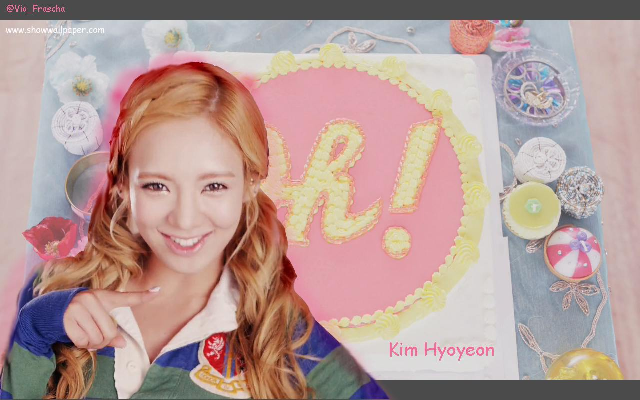 Hyoyeon girls generation wallpaper
