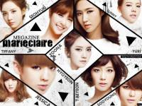 SNSD On marieclaire Megazine