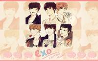 EXO- K cartoon.