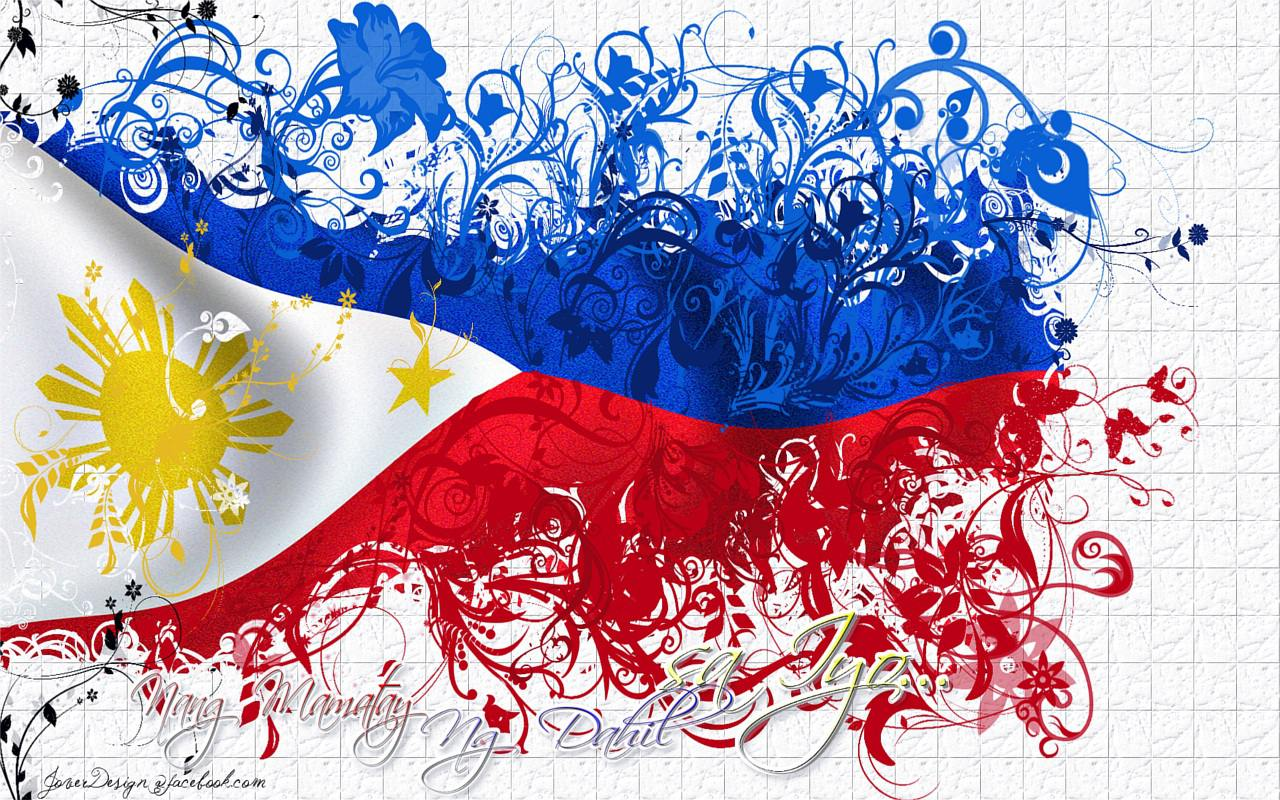 Filipino Flag Wallpaper Images