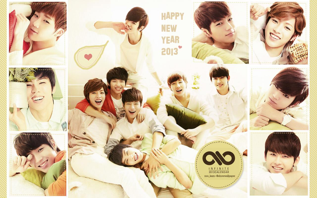 Infinite Calendar 2013 Ver1 Wallpaper By Nookarn