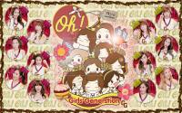GIRLS' GENERATION ♥ Oh! Japanese ver.cartoon